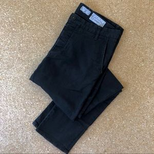 Allsaints Stove Chinos in Black / W33